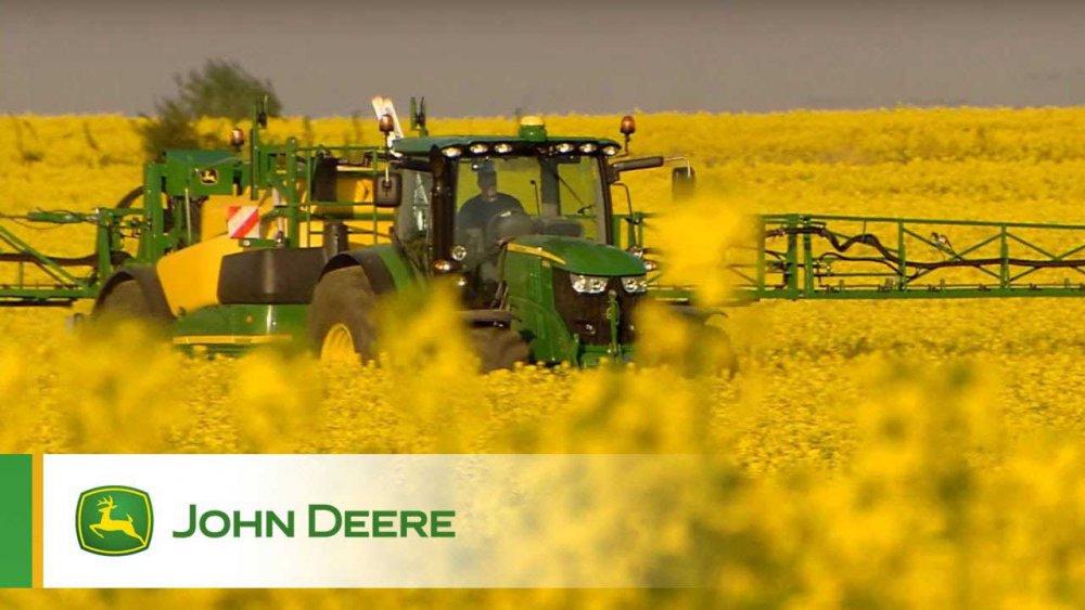 John Deere: «Сезам» открывает двери для электродвигателя - Agrobiz.net